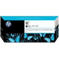 HP 91 775-ml Matte Black DesignJet Pigment Ink Cartridge (C9464A) (Single Pack)