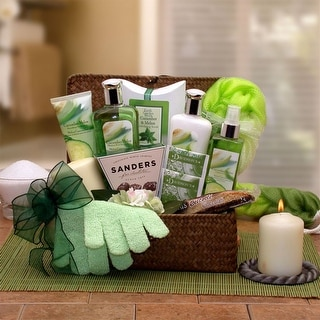 Serenity Spa Cucumber and Melon Gift Chest