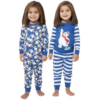 Intimo Kids Frosty The Snowman 4 Piece Pajama Set