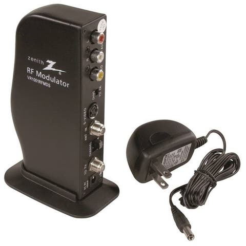 Zenith VR1001RFMDS Rf Modulator With S Video