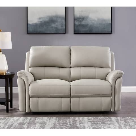Hydeline Erindale Leather Power Reclining Loveseat with USB-Ports