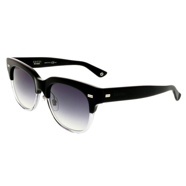Gucci GG3744/S X9H Black Gradient Wayfarer Sunglasses - black gradient - 52-19-145