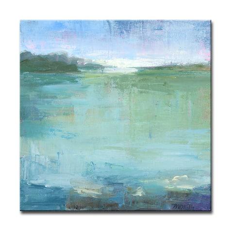 'Watery' Wrapped Canvas Wall Art by Dana McMillan