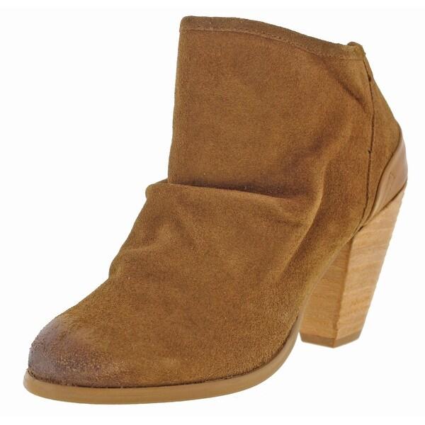 Naughty Monkey Sereena Women's Leather Ankle Booties