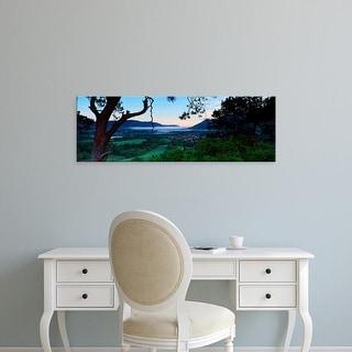 Easy Art Prints Panoramic Image 'Keswick, Lake District National Park, Cumbria, England, United Kingdom' Canvas Art