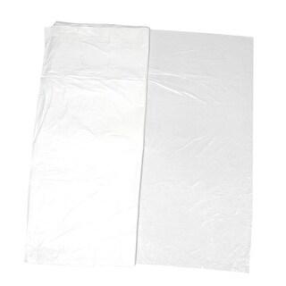 10 Pcs 180cm x 180cm Square Shaped White Plastic Table Placemat Mat
