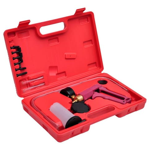 vidaXL Vacuum Tester and Brake Bleeding Kit