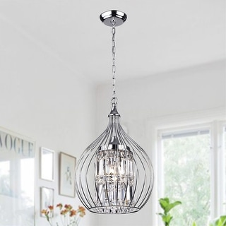 Link to Acatia 3-light Chrome Foyer Pendant Similar Items in Bathroom Vanity Lights