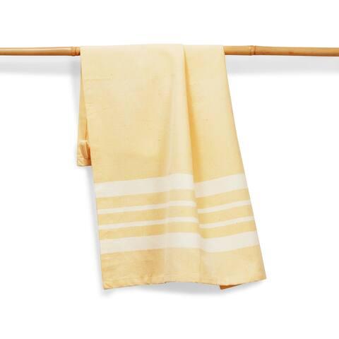 BUTTER Handmade, Fair Trade, Artisan Woven Kitchen Towel (India)