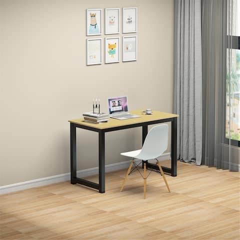 Modern Computer Desk for Home Office-Oak