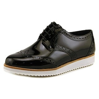 Hardy Raquel Women  Round Toe Patent Leather Black Oxford