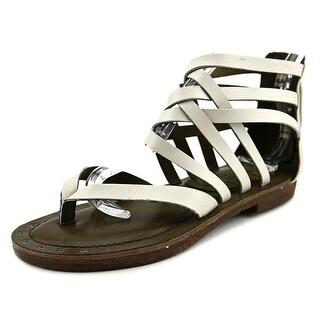 Mia Heritage Lilli   Open Toe Leather  Gladiator Sandal