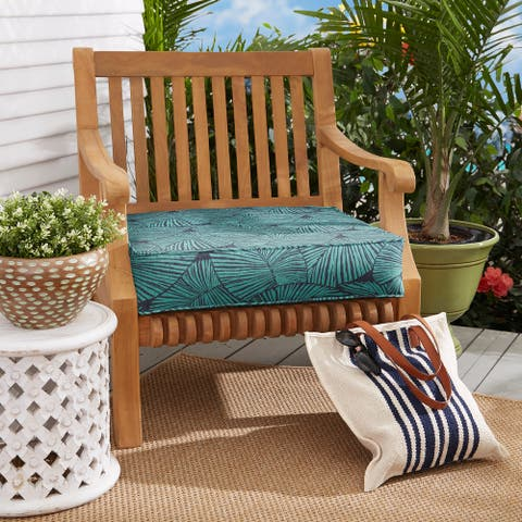 Blue Tropical Corded Indoor/ Outdoor Cushion