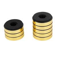 10pcs Foam Anti Vibration CD Player Speaker Feet Stand Pad 40mm x 10mm