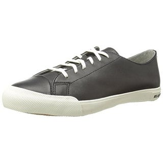 SeaVees Womens Army Issue Low Contrast Trim Lace-Up Casual Shoes