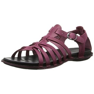 Keen Womens Alman Leather T-Strap Gladiator Sandals