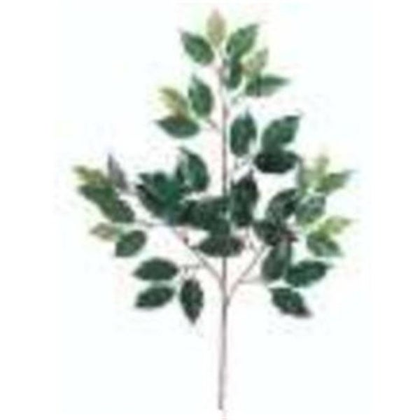 PSF734- 23 in. Deluxe Red Ficus Spray X3 Pack of 40