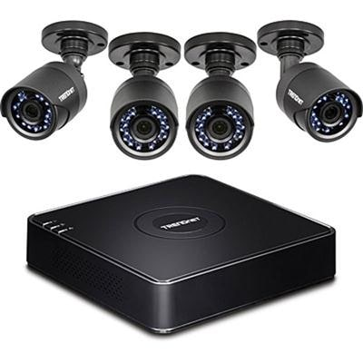 Trendnet 4-Channel Hd Cctv Dvr Surveillance Kit With Pre-Installed 1 Tb Hdd And 4 X 1080P Hd Ir Ip66 Analog Cctv Cameras