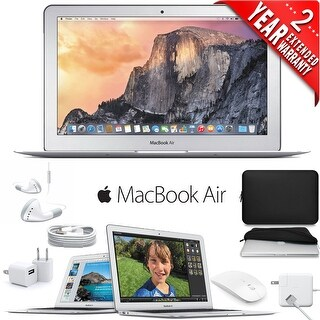 Apple 11.6-Inch MacBook Air (Early 2015) with Padded Case
