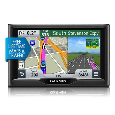 Garmin Nuvi 57LMT 5 Inch GPS Navigator with Lifetime Map & Traffic Updates