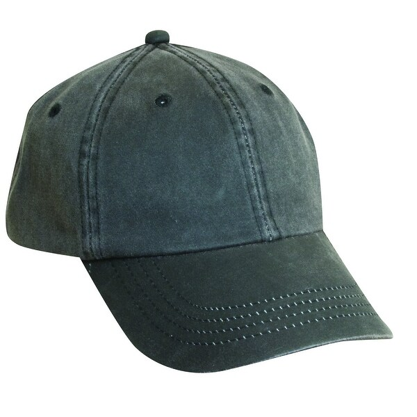 DPC Outdoor Design Weathered Cotton UPF 50 Adjustable Baseball Hat