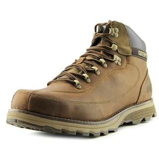 Caterpillar Highbury Men  Round Toe Leather Brown Boot