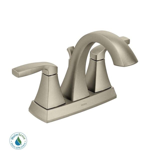 Moen 6901 Voss Double Handle Centerset Bathroom Faucet (Valve Included)