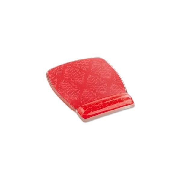 "3M MW308-CL 3M Fun Design Mouse Pad - 0.8"" x 6.8"" x 8.6"" Dimension - Coral Pink - Gel, Rubber"