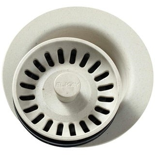 "Elkay LKQD35 4-1/2"" Disposal Flange with Basket Strainer (Option: White)"