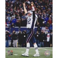 Tom Brady Unsigned New England Patriots 8X10 Inch Photo