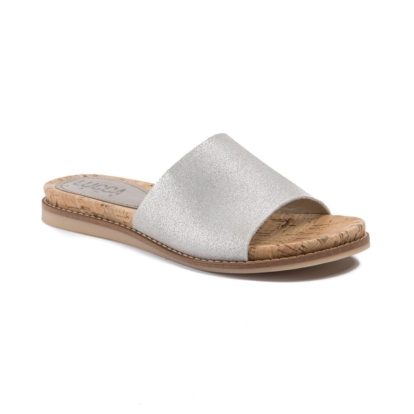 Lucca Lane Bailey Women's Sandals Brushed Silver