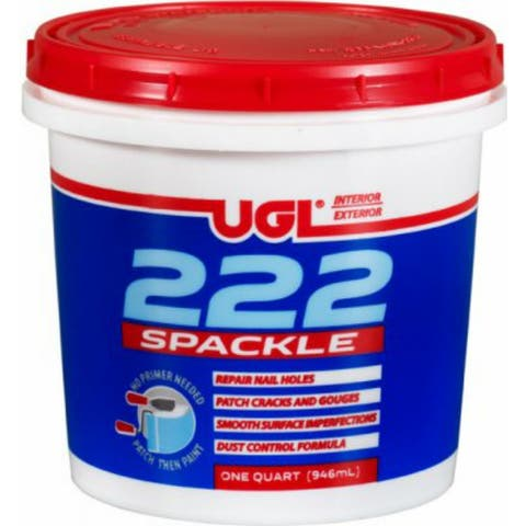 UGL 31712 All Purpose 222 Spackling Paste, 1 Qt