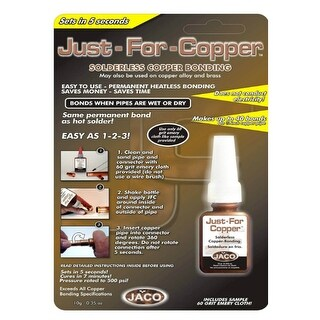 Jackson 31010 Just For Copper Solderless Copper Bonding, 10g