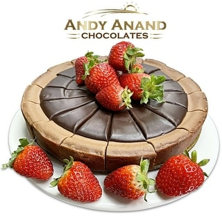 """Link to Andy Anand Triple Chocolate Cheesecake 9"""" (2 lbs) Similar Items in Unique Gift Baskets & Sets"""