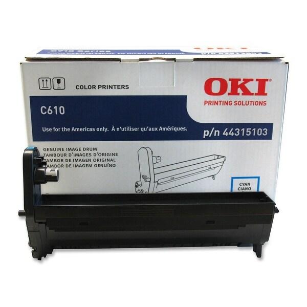 Okidata - C610 Cyan Drum For For C610cdn, C610dn, C610dtn, C610n, C610n Pen Printing Solut