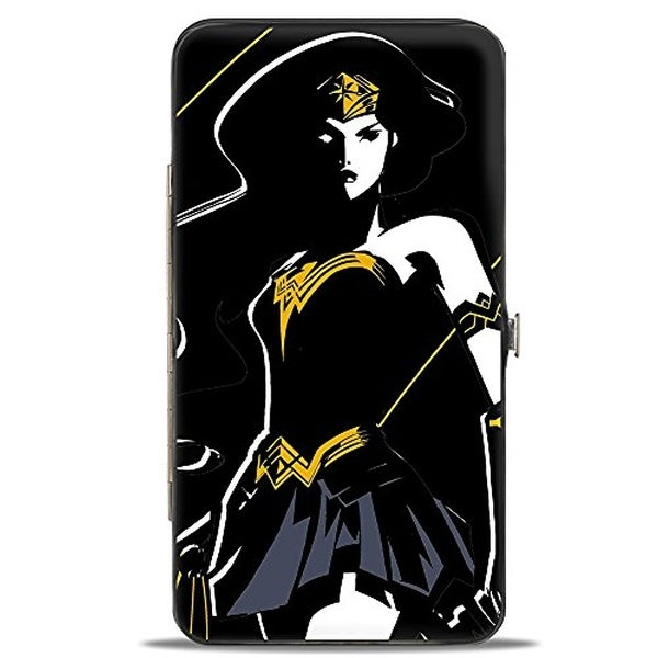 Buckle-Down Hinge Wallet - Wonder Woman