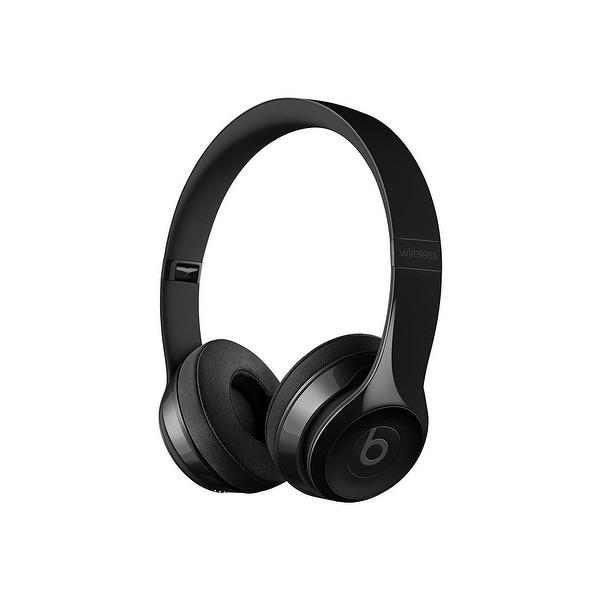 Beats by Dr. Dre - Solo3 Wireless On-Ear Headphones - Gloss Black - 8.3 x 2.7 x 2.5