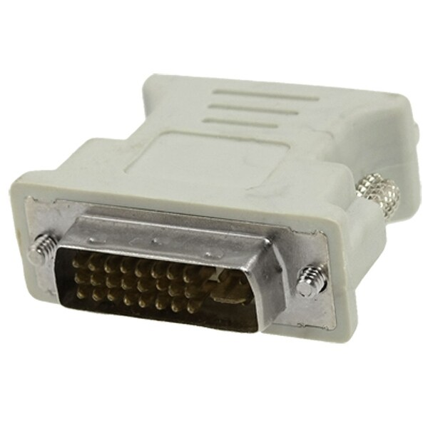 Unique Bargains VGA Female to Dual Link DVI-I Male Converter Connector for PC