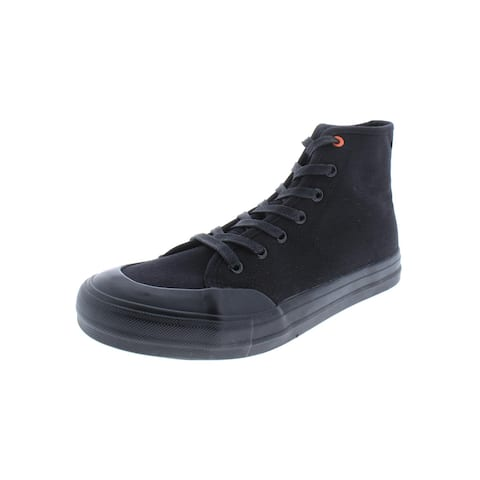 Steve Madden Mens Spike Casual Sneakers High Top Lace-Up