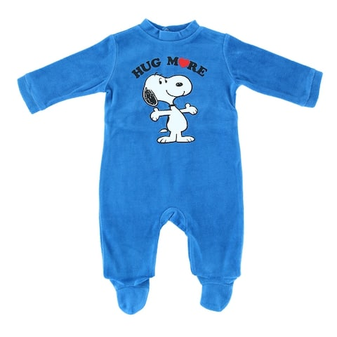 Textiel Trade Infant Snoopy Footed Sleeper