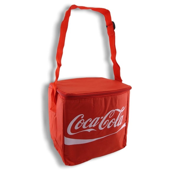 Red Coca Cola 12 Pack Insulated Cooler Tote Bag