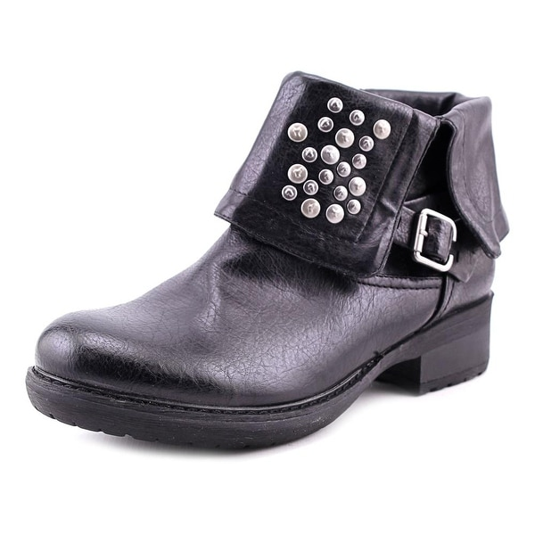Baretraps Hartman Women Round Toe Synthetic Ankle Boot