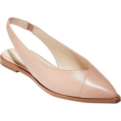 8d2c243b7eb1 Cole Haan Women s Anora Skimmer Slingback Mahogany Rose Grainy Leather