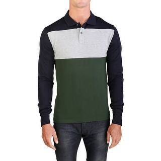 Moncler Men's Gamme Bleu Long Sleeve Tri-Color Polo Shirt Navy|https://ak1.ostkcdn.com/images/products/is/images/direct/fd151e9616519abbf250a9e5075c9475d9b2a4c2/Moncler-Men%27s-Gamme-Bleu-Long-Sleeve-Tri-Color-Polo-Shirt-Navy.jpg?impolicy=medium