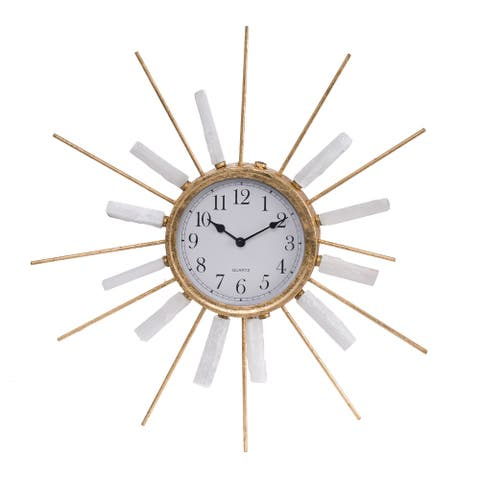 A&B Home Dulcie Beam Wall Clock