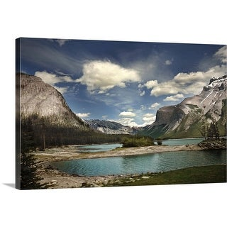 """Rockies, Canada"" Canvas Wall Art"