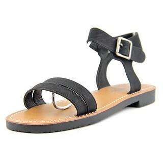 C Label Daria-3 Women Open Toe Synthetic Black Sandals
