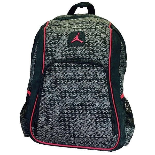 59d15e0f841 Nike Jordan Jumpman 23 Big Students School Backpack with Laptop Sleeve  9A1223