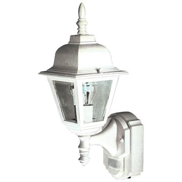 Heath Zenith HZ-4191-WH Country Cottage Motion Activated Outdoor Wall Light