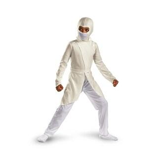 Disguise G.I. Joe Storm Shadow Classic Child Costume - White - 4-6